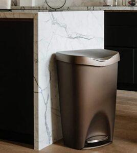 umbra 084200-125 trash bin with lid