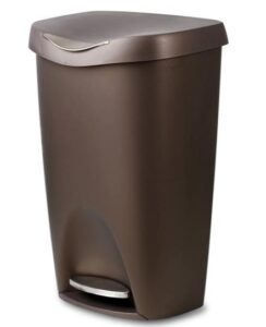 umbra 084200-125 13 gallon trash can with lid