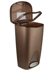 umbra 084200-125 garbage can with 13 gallon capacity