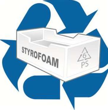 best way to throw away styrofoam