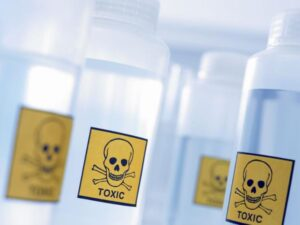 How to dispose of toxic materials